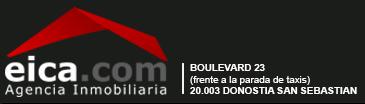 logo EICA, tu agencia inmobiliaria de confianza en Donosti